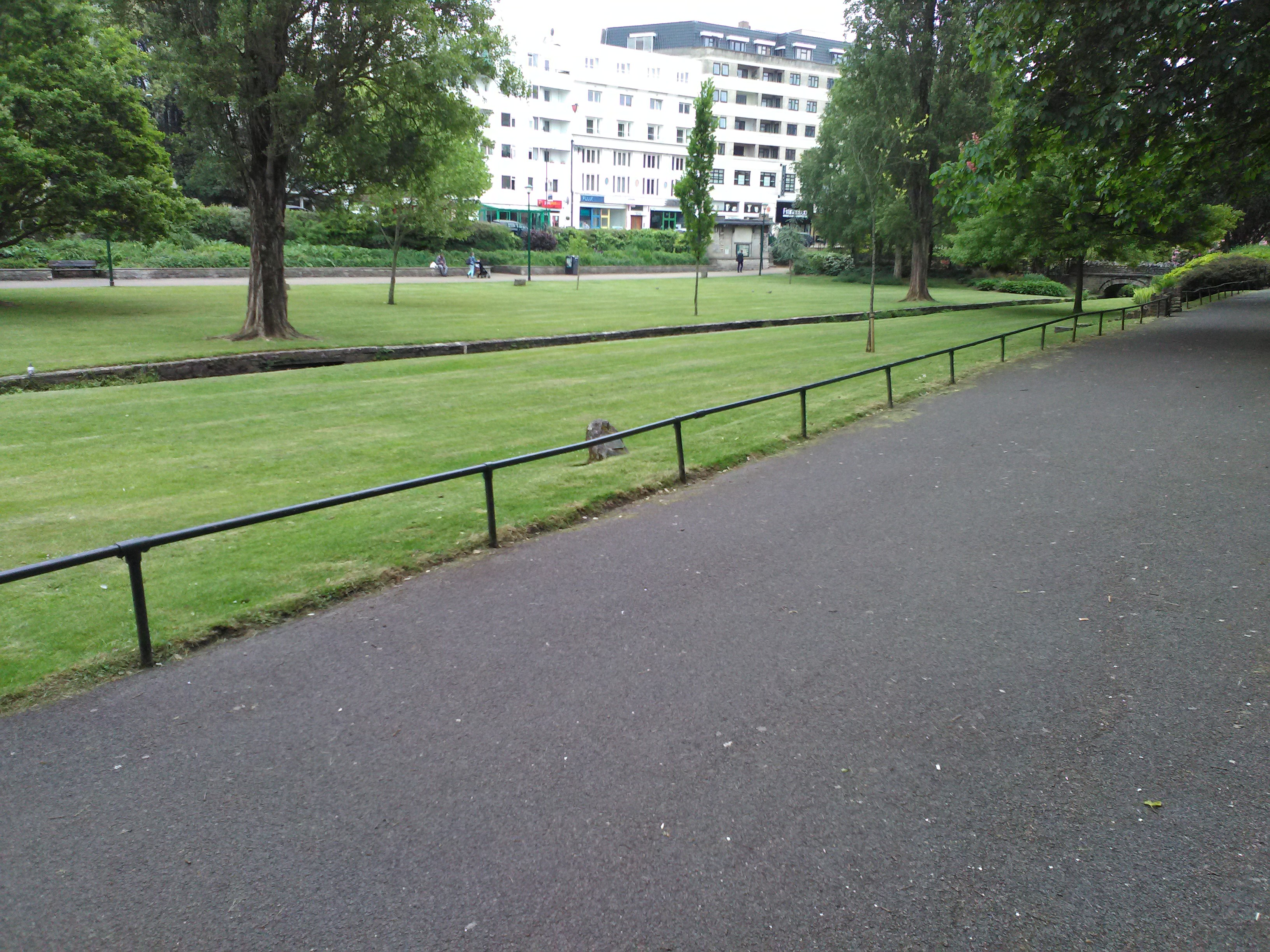 View from the bench
